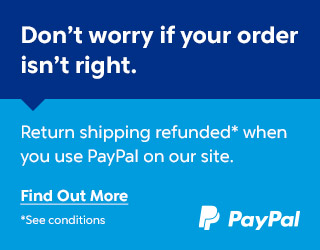 Example Banner for PayPal's Refund Returns scheme