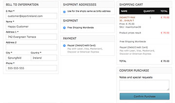 One page checkout for Joomla Virtuemart 3