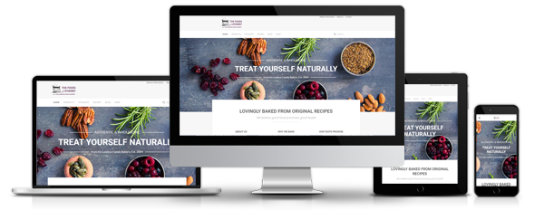 Responsive Joomla Online Shop for Foods of Athenry